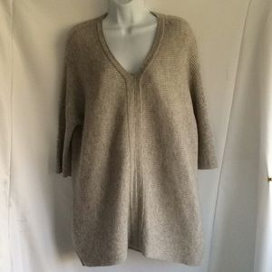 Cashmere Sweater by Charter Club. Color: grey